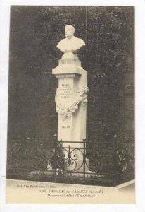 CADILLAC-sur-GARONNE, France, 00-10s Monument CAZEAUX-CAZALET
