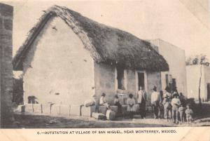 San Miguel Monterrey MX~Christian Church (Disciples of Christ) Outstation c1908