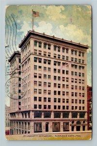Kansas City MO-Missouri, Scarritt Building, Vintage c1908 Postcard