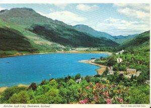 Scotland Postcard - Arrochar - Loch Long - Dunbartonshire - Ref TZ7229