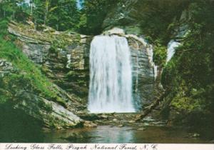 North Carolina Looking Glass Falls Pisgah National Forest