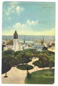 East From The Tower Of The State Capitol, Albany, New York,1911 PU