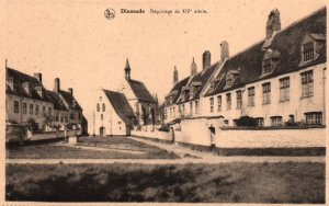 Beguinage du XIV Siecle,Dixmude,,Belgium BIN