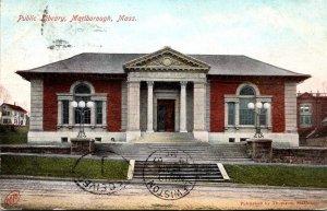 Massachusetts Marlboro Public Library 1907