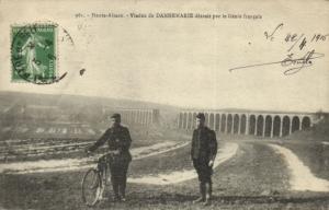 CPA Haute-Alsace -Viaduc de Dannemarie détruit par le Génie francais  (171380)