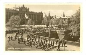 Stockholm, Sweden, 20-40s; Norrbro och Vaktparaden