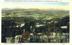 Shaker Village, Lebonon Valley Lebanon Trail MA Unused