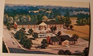 Vintage Postcard Gateway Inn Cleveland Georgia US 129 GA 75 1988