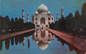 Tajmahal Agra India Postal Used Unknown