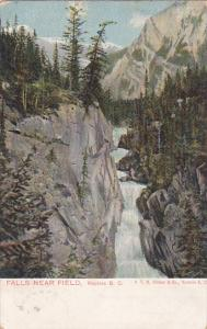 Falls Near Field, Rockies, British Columbia, Canada, PU-1905