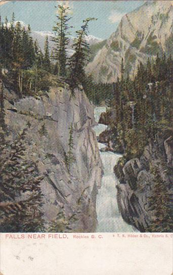 Falls Near Field, Rockies, British Columbia, Canada, PU-1905