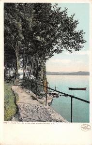 Lake Winnipesaukee New Hampshire~Shore Path at Weirs~1906 Detroit Pub Co #9787