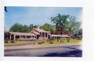 Sumter SC Mt Vernon Court Motel on US 76 - 521 Old Cars Postcard