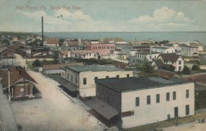 FORT PIERCE , Florida , 1913 ; Bird's Eye View