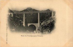 CPA CORSE- Pont du Vecchio, prés Vivario. (710376)