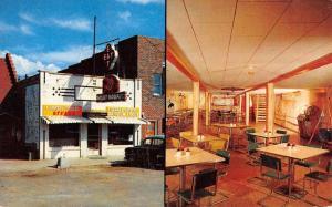 Camdenton Missouri Night Hawk Cafe Multiview Vintage Postcard K100867
