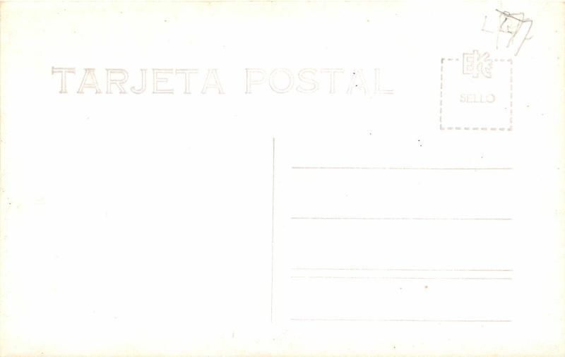F61/ Foreign RPPC Postcard Mexico Oaxaca Birdseye View c1940s