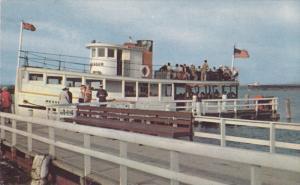 SAULT STE. MARIE, Michigan, 1940-1960's; The Messenger Ferry