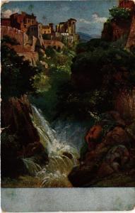 CPA TIVOLI Sibyllentempel und Wasserfalle ITALY (545482)