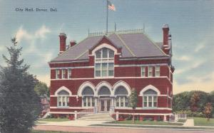 DOVER, Delaware, 30-40´s; City Hall Building