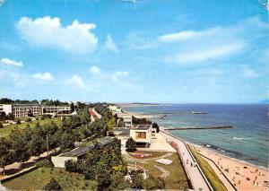 Romania Eforie Nord Faleza si Plaja Promenade Beach