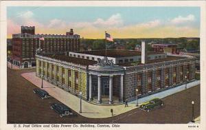 CANTON , Ohio , PU-1910 , Post Office & Ohio Power Bldg