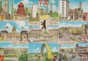 Germany West Berlin Multi View 1963
