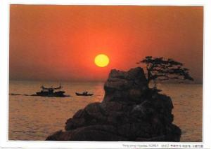 South Korea. Yang and-Hajodae. Sunset  1997