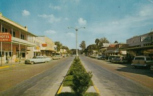 ZEPHYRHILLS , Florida, 1964 ; Downtown (Main Street)