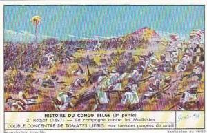 Liebig Trade Card History Belgian Congo II No 2 Redjaf 1897