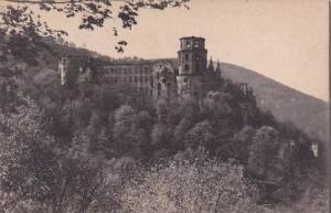 Germany Heidelberg Das Schloss von der Terrasse gesehen
