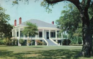 Postcard Beauvoir House Mississippi