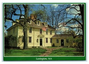 Postcard Buckman Tavern, Lexington MA M6