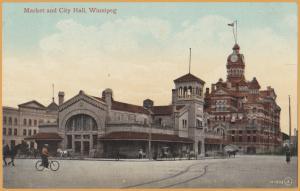 Winnipeg, Manitoba - Market & City Hall -