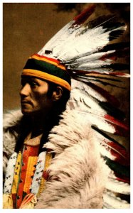 American Indian  Indian Chief ,  Reproduction