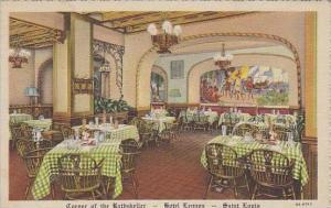 Missouri Staint Louis Corner Of The Rathskeller Hotel Lennox