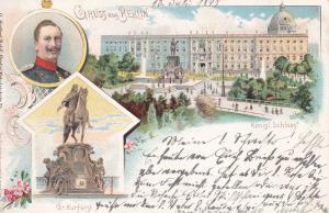 Gruss aus BERLIN , Germany , PU-1898