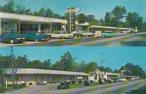 North Carolina New Bern Gaults Motor Court And Restaurant 1960