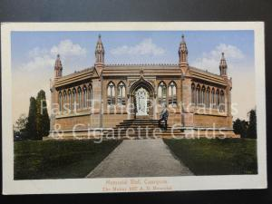 India: CAWNPORE, Memorial Well, Old Postcard - Pub by H A Mirza & Sons