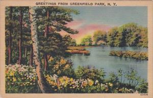 New York Greetings From Greenfield Park