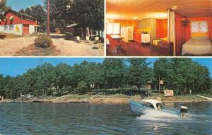 Gravois Mills Missouri Pelican Point Resort Multiview Vintage Postcard K65180
