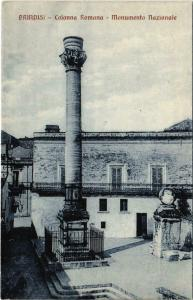 CPA Brindisi Colonna Romana Monumento Nazionale ITALY (802059)