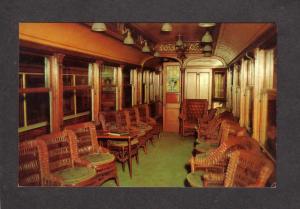 CT Connecticut Company Trolley Car President East Haven Conn Postcard Railway