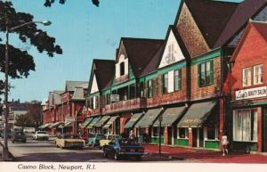 Rhode Island Newport Casino Block Bellevue Avenue Specialty Shops 1979