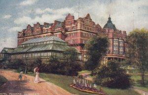 Harrogate , Yorkshire , England , 1900-10s ; Hotel Majestic ; TUCK 1659