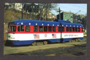 PA Transit Train Subway Trolley Car South Hills  PITTSBURGH Pennsylvania Pc