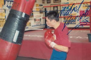 Michael Driscoll Boxer Hand Signed Boxing Photo