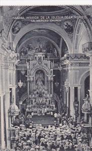 Cuba Habana Interior La Merced Church
