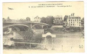 Les Beaux sites de la Marne de la varenne a champigny, Vue artistique du Pont...