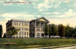 Muncie, Indiana - A view of the Muncie Normal School - in 1913